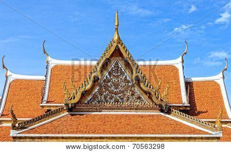 Thai Pavilion Architecture, Closeup