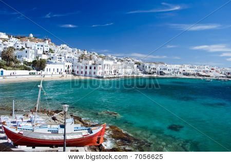 Harbour of Mykonos
