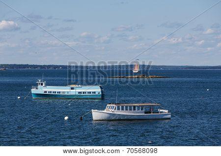 Ferries And Schooner