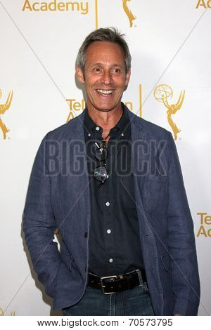 LOS ANGELES - AUG 22:  Michel Gill at the Television Academy�¢??s Producers Peer Group Reception at London Hotel on August 22, 2014 in West Hollywood, CA