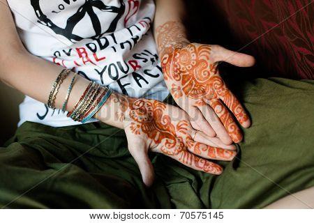 Henna Tattoo, India
