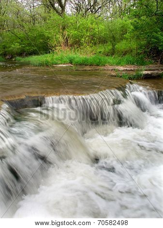 Des Plaines Conservation Area Waterfall