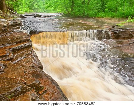 Canyon Falls Michigan Northwoods