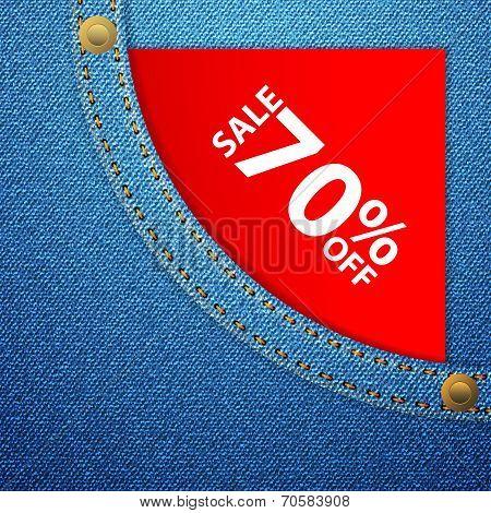Denim Pocket And Sale Seventy Off