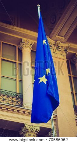 Retro Look European Flag