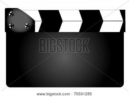 Blank Movie Clapperboard Clapperboard