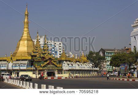 Yangon Downtown