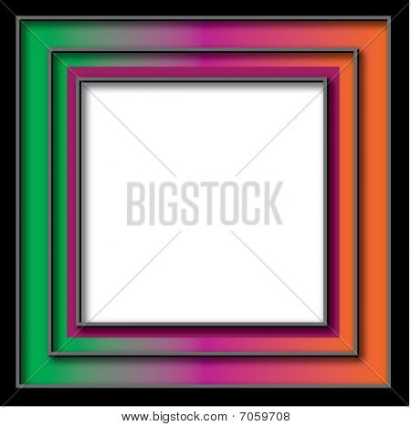 Colorful Frame Background