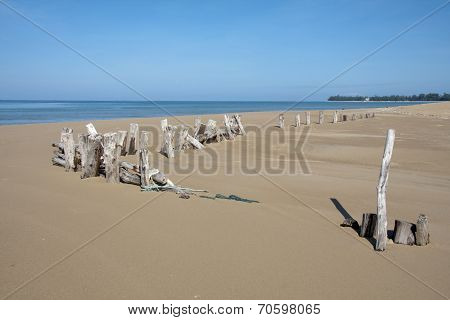 Post On Khuek Khak Beach