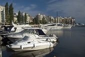 picture of zea  - Panoramic view of the Marina Zea Piraeus Greece - JPG