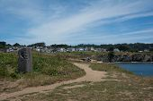 stock photo of mendocino  - A panoramic view of Mendocino - JPG