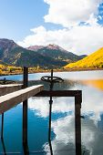 foto of colorado high country  - Reflections of Fall in Colorado high country - JPG