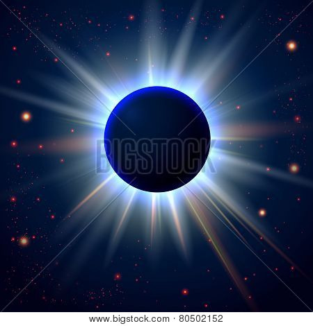 Abstract cosmic background with place for Your text