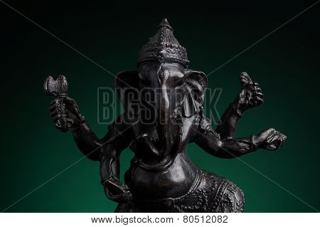 Statue Of The Hindu God Ganesha