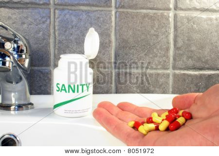 Sanity Pills In A Bottle
