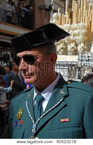 Civil Guard Officer, Seville.