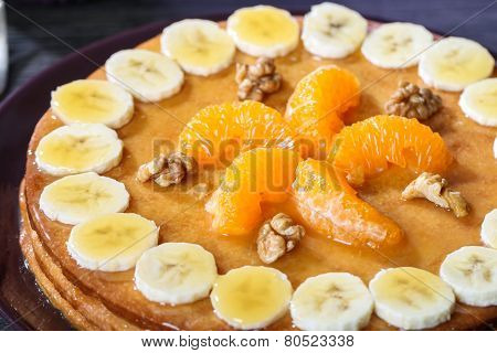 Homemade Pastry Cake