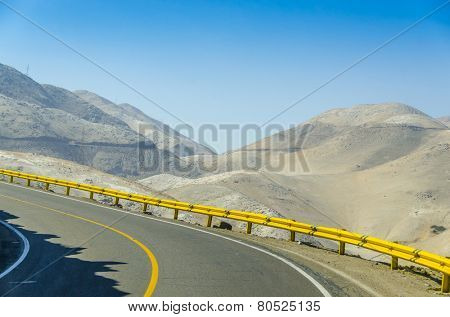 Road from Pan-American Highway to Arequipa