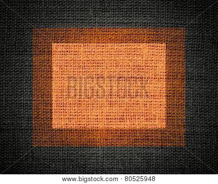Burlap rustic jute texture or background