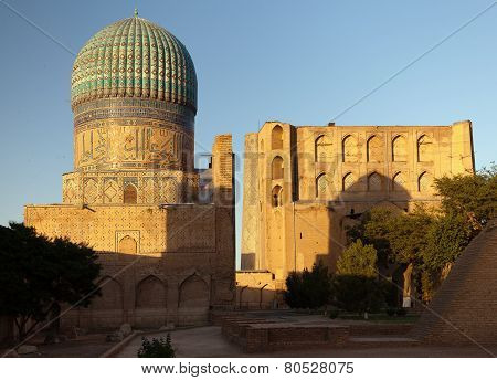 From Bibi-khanym Mosque - Registan - Samarkand