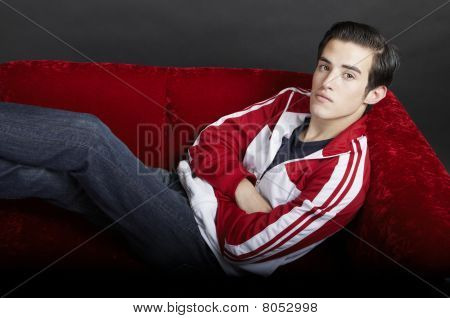 Young Man Reclining