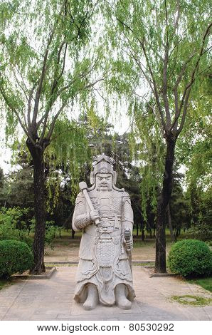 Chinese Traditional Military Sculpture