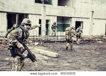 rangers in action