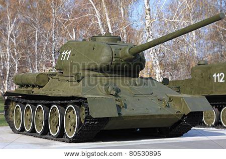 Tank T-34.