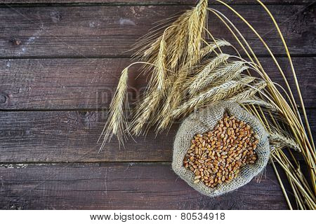 Bag With Grain
