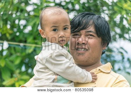 Portrait Of Toraja People