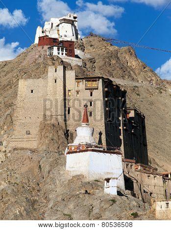 Leh Palace - Namgyal Tsemo Gompa