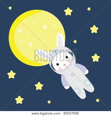 Bunny in Space