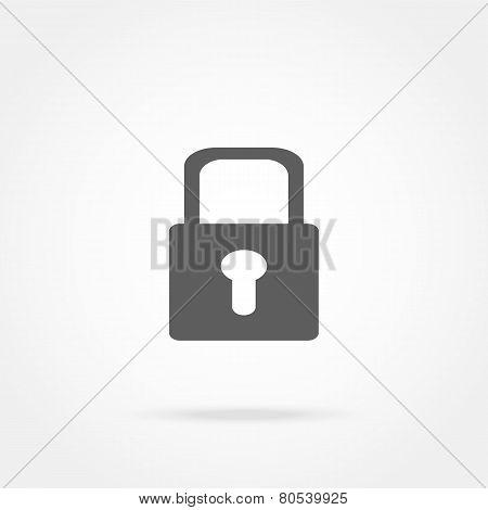 Closed Lock Icon