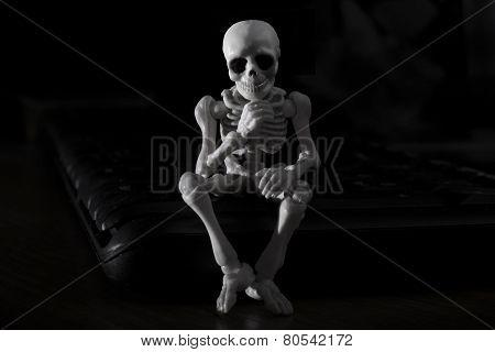 skeleton - thinker