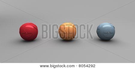 Radiation Balls