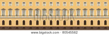 Windows In Classicism Style
