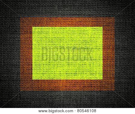 Burlap linen rustic jute texture or background