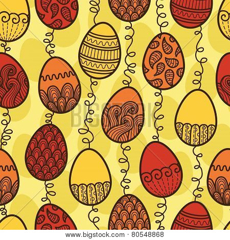 Easter pattern eggs