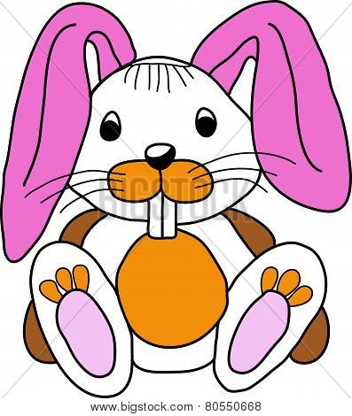 Toothy rabbit.