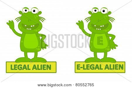 Legal Alien Vs E-legal