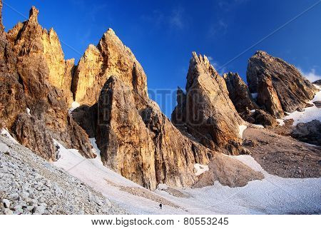 Passo Delle Farangole - Pale Di San Martino - Dolomiti