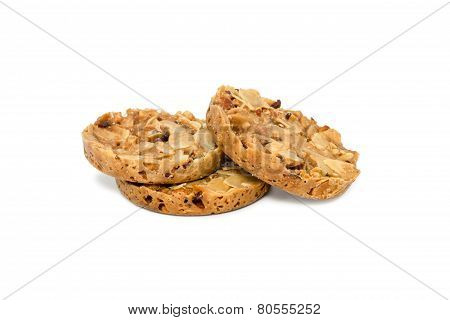 Cookies With Nuts And Raisins