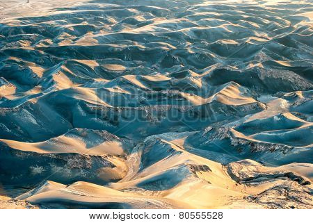 Ash Dunes At Mount Bromo Plateau, Indonesia