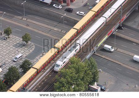 Germany Intercity Train