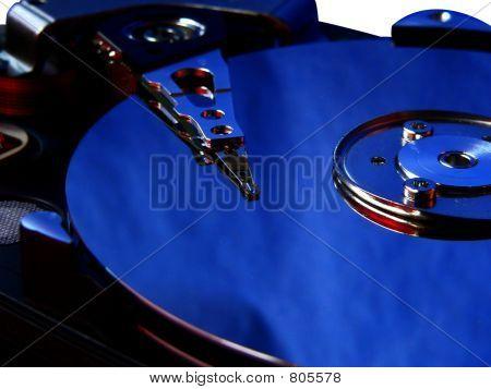 Hard disk blue