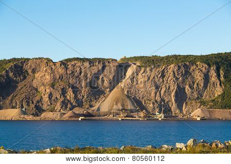 .quarry At The Base Of Cape Porcupine