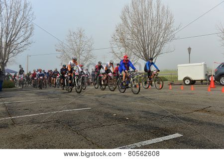 Cycling Race Start