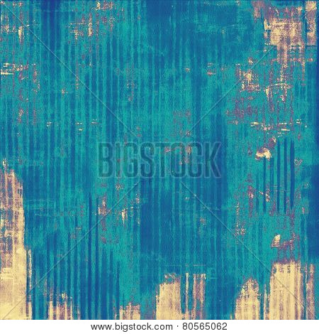 Retro background with old grunge texture. With different color patterns: purple (violet); yellow (beige); blue; cyan
