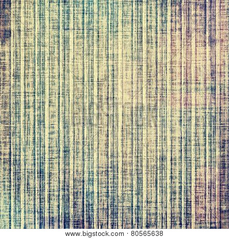 Old texture with delicate abstract pattern as grunge background. With different color patterns: gray; yellow (beige); brown; blue