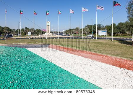 National Flags Of Kuwait
